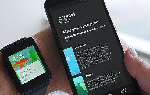 ANDROID WEAR ����� ������������ ����� ����� � ��������� �������