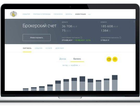 Клиенты банка «Тинькофф» могут инвестировать вценные бумаги