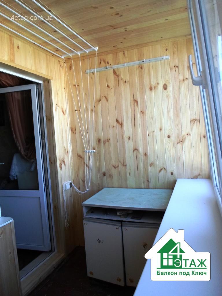 Балкон под ключ - качественный ремонт недорого.