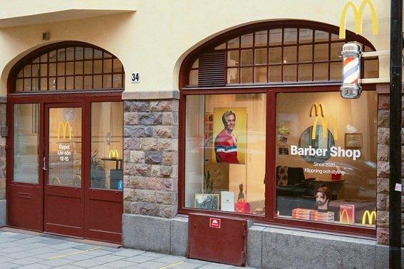 McDonald's сообщил об открытии парикмахерской