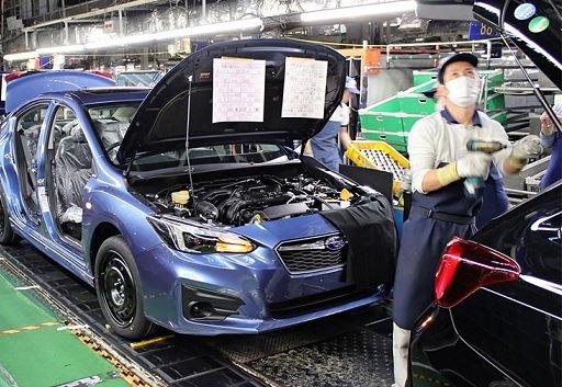 Производство автомобилей Subaru будет сокращено из-за дефицита полупроводников