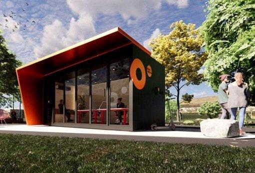 Стартап из Ирландии занялся строительством модульных офисов вблизи загородных домов