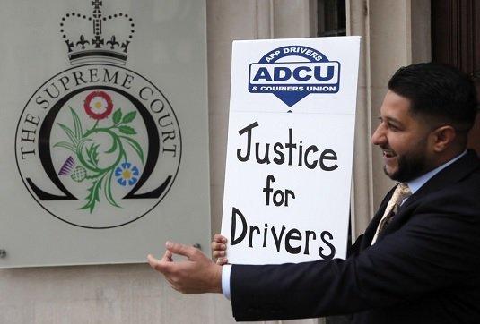 Лондонский суд счел водителей Uber сотрудниками