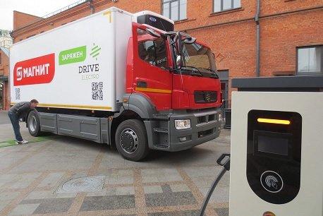 Drive Electro начнет производить в России электрические большегрузы