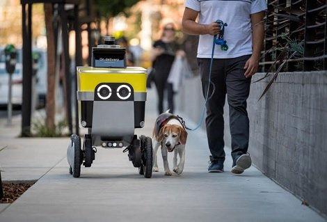 Uber решил заняться выпуском роботизированных курьеров