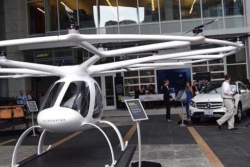 Немецкий стартап Volocopter закрыл очередной раунд на 200 млн евро