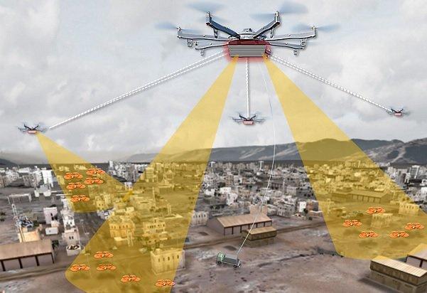 DAPRA планирует контролировать в городах полеты беспилотников с помощью особых дронов