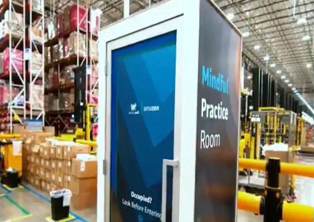 На складах Amazon появятся будки для медитаций