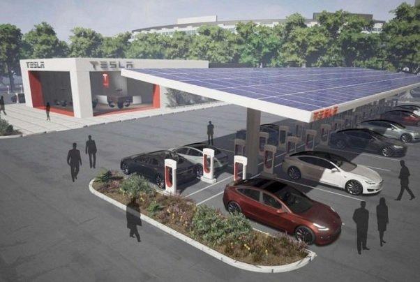 Tesla начнет работать на рынке общепита