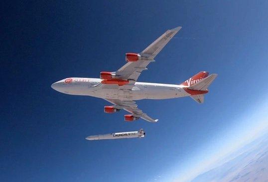 Virgin Orbit занялась запуском коммерческих спутников