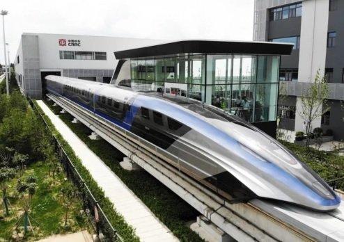 В КНР представили самый быстрый поезд на планете