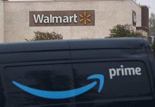Walmart уступил Amazon в розничных продажах