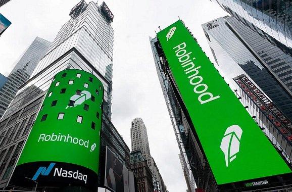 Во втором квартале криптовалютная выручка Robinhood увеличилась в 46,6 раз