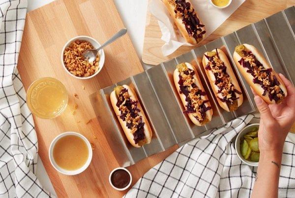 IKEA запустила продажи вегетарианских хот-догов с овощными сосисками